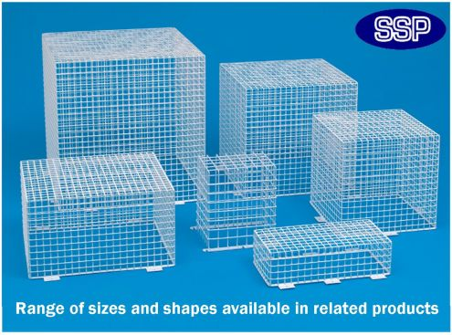 Cctv Protective Cage External Lighting Cage C9627 B